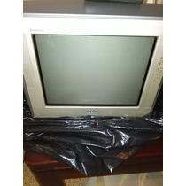 Tv Sony Pantalla Plana 14pulg, Trinitron C/control
