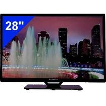 Tv Led Monitor 28 Cyberlux Full Hd Incluye Base!!!