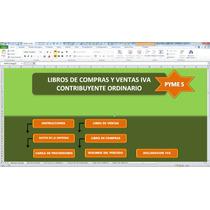 Libros De Compras Y Ventas Iva,plantilla En Excel