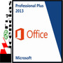 Office Professional Pro Plus 2013 5 Pc Licencia Original