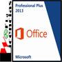 Office Professional Pro Plus 2013 Licencia Original X 1 Pc