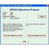 Reset Original Almohadillas Epson L200