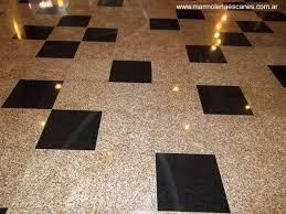 Vaciado emplomado y cristalizado de piso de granito for Modelos de pisos de granito