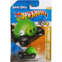 Carro Hot Wheels - Angry Birds- Minion Pig