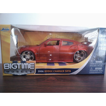 Icp 2006 Dodge Charger Srt8 Escala 1:24 Jada Carro Coleccion