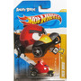 Hot Wheels, Angry Birds Minion Pig - Red Bird, Escala 1/64