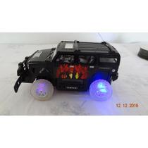 Carro A Control Remoto, Tipo Hummer Con Luz Y Sonido