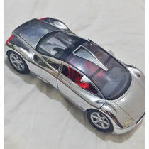 Audi Cromado Burago Cars Escala 1/18 Auto Coleccion De 1995