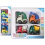 Set De 7 Camiones Para Niños Con Accesorios