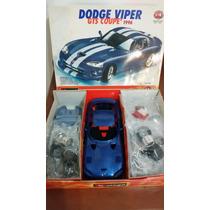 Carro Modelo Escala Para Armar (dodge Viper)