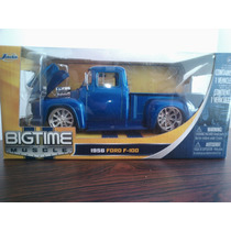 Icp 1956 Ford F-100 Jada Escala 1:24 Carro Coleccion