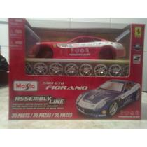 Icp 509 Gtb Fiorano Ferrari De Armar 1.24 Maisto