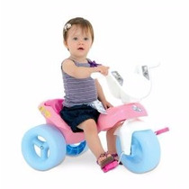 Triciclo Pepita A Pedal Para Niñas Navidad Regalo Santa Baul