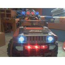 Hummer Electrica Bateria Recargabl Montable Luces Sonido Mp3