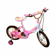 Bicicleta Disney Barbie Niño Niña Rin 16 4 A 8 Años