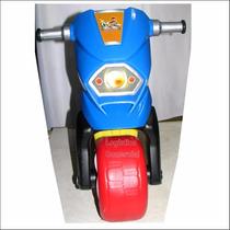 Moto Y Carro Montable Con Baul Niños Niñas Navidad Regalo