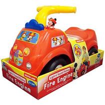 Carrito Montable Mickey Mouse Fire Engine Nuevo A Estrenar