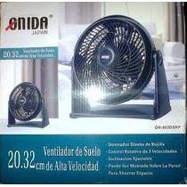 Ventilador De Suelo De Alta Velocidad 20,32cm Onida Japan