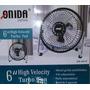 Mini Ventilador De Piso Alta Velocidad 15,24cm Onida Japan