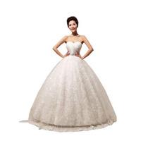 Vestido De Novia Blanco Bello Y Hermoso