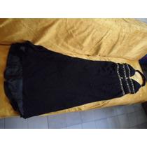 Vestido De Noche Nuevo, Original Mundo Novia Negro