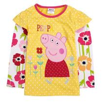 Peppa Pig Camisa Amarilla Talla 3t
