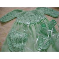Faldellines En Crochet Tejidos A Mano Para Bebes
