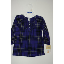 Vestido Carters, Nuevo Talla 2t,violeta Manga Larga