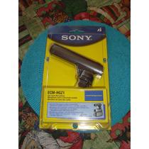 Micrófono Sony Tipo Cañon Ecm-hgz1, Para Videocámaras.