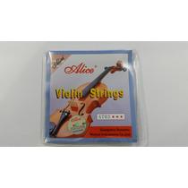 Cuerdas Para Violin Alice