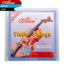 Set De Cuerdas Para Violín Marca Alice
