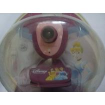 Camara Web Niñas Princesas Disney Usb Con Pinza Sujetadora