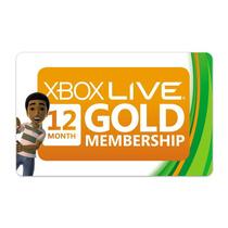 Tarjetas Xbox Live Gold De 12 Meses Completo Envio Inmediato