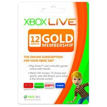 Xbox Live 12 Meses Gold X Multiregión Entrega Inmediata