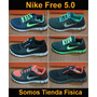 Zapatos Nike Free 5.0 Caballero Originales Somostiendafisica