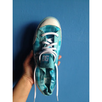 Zapatos Dc Shoes Dama Azul