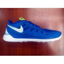 Zapatos Deportivos (gomas) Nike Free 5.0 Para Caballeros