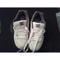 Remato Zapatos Deportivos Dc Shoes Blancos Para Niños