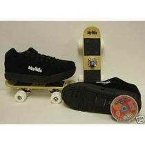 Zapatos Ruedas Skate Bbyhds Patineta Talla 38 Como Nuevo