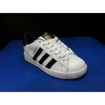 Zapatos Adidas Superstar De Niños Y Niñas