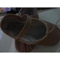 Zapatillas Ballet Cuero Abt Sporlights Nro 9 Importadas