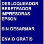 Desbloqueador Reset Impresora Epson Tx130 Envio Por Internet | SOLUCION.ML