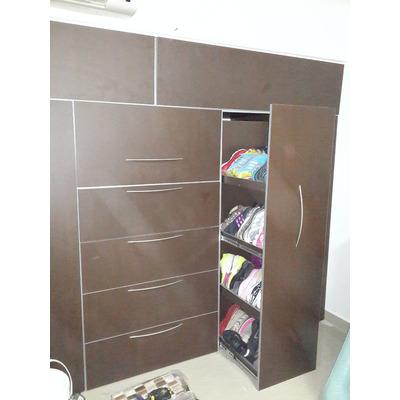 Cocinas empotradas closet camas modernas modular for Closet con zapatera
