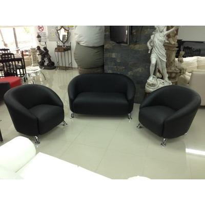 Juego de muebles viviana sofa 2 ptos 2 poltronas for Muebles de sala modernos para espacios pequenos