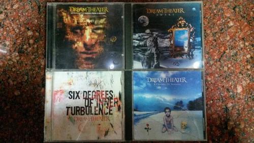 Dream Theater Cds Importados