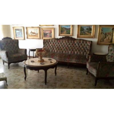 Juego de muebles luis xv bs en mercado libre for Muebles de oficina luis xv
