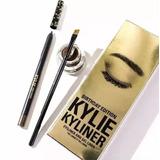 Kit Delineador En Gel Creyon Pincel Kylie Kyliner