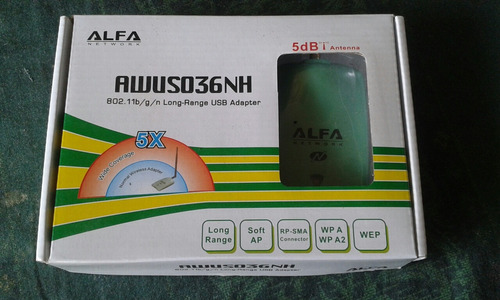 Router Wifi Alfa Network Awus036nh Internet Wireless Adapter