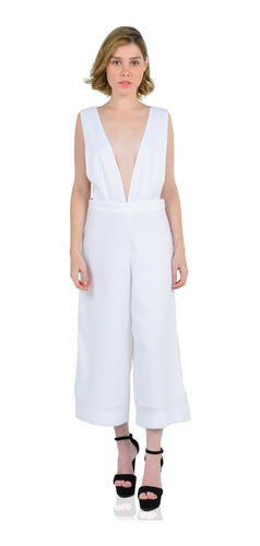 Romper Mujer Aishop Sin Mangas Tipo Cropped