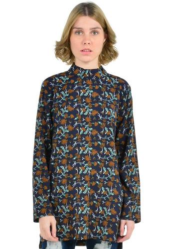 Blusas Mujer Aishop Cuello Alto